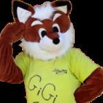 Gigi Fox Mascotte